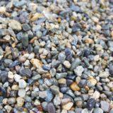 熱帯魚水槽の砂利